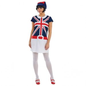 60s Mod Union Jack Dress