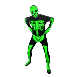 Glow Skeleton Morphsuit
