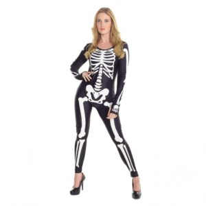 Womens Skeleton Morphsuit
